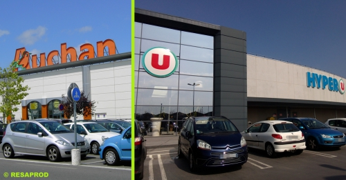 auchan,hyper u,super u,savenay,supermarché,attac