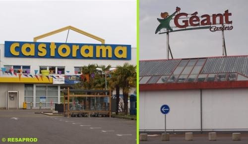 castorama, géant, leclerc, hyper, commerce